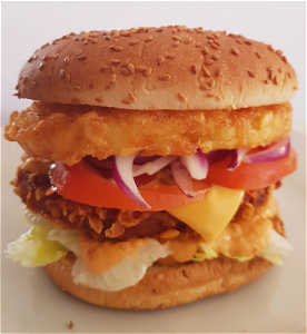 Foto Royal chicken burger schotel