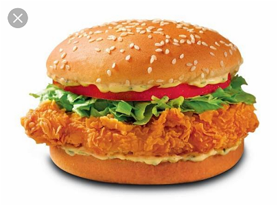 Foto Crispy Chicken Burger