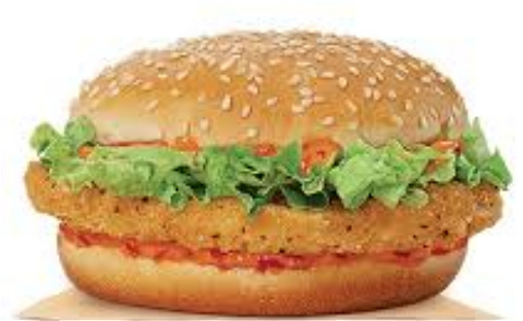 Foto Chili chicken burger