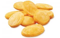 Foto Kleine portie aardappelschijfjes